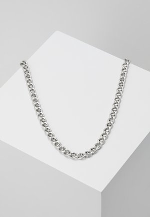 RAW NECKLACE - Halsband - silver-coloured