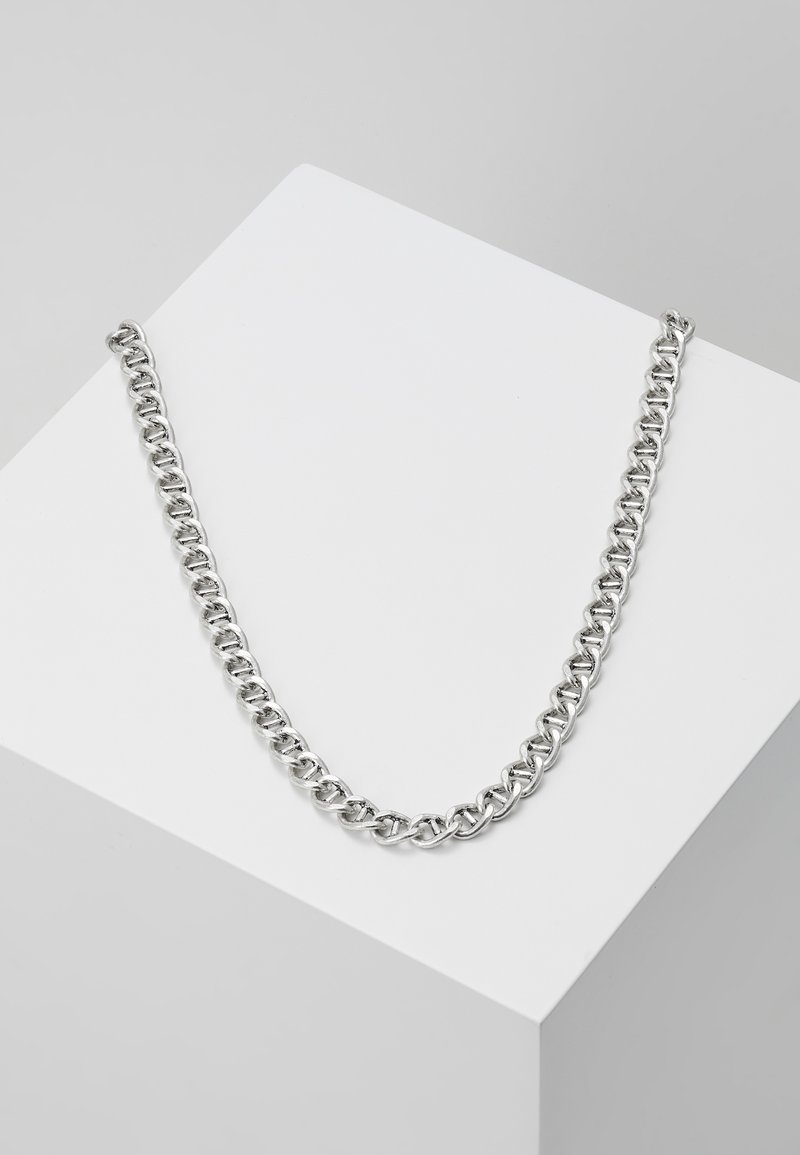 Icon Brand - RAW NECKLACE - Necklace - silver-coloured