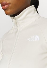 The North Face - FULL ZIP JACKET - Fleecejakke - vintage white heather