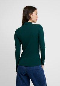 New Look - ZIP - Langærmede T-shirts - dark green - 2