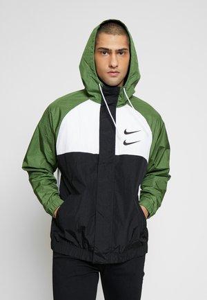 Summer jacket - black/white/treeline/(black)