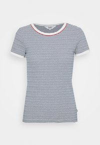 Lee - GRAPHIC TEE - Print T-shirt - washed blue - 4