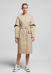 KARL LAGERFELD - Day dress - sandstone - 0