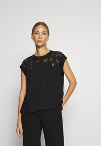 Desigual - LISBOA - T-shirt basic - black - 0