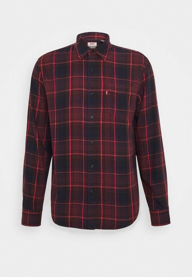SUNSET POCKET STANDARD - Shirt - bordeaux