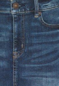 American Eagle - HIGH RISE MINI SKIRT - Jeansnederdel/ cowboy nederdele - dark ink - 2