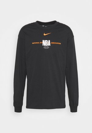 NBATEAM GLOBAL EXPLORATION LONG SLEEVE - Longsleeve - black
