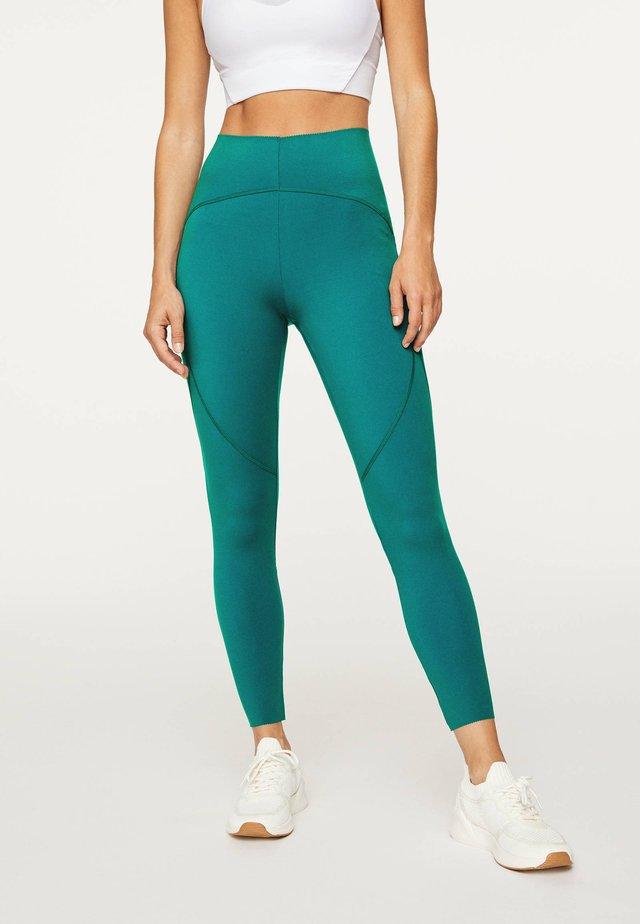 Collants - turquoise