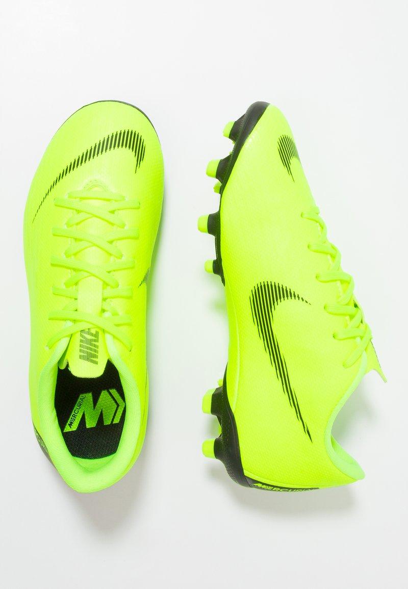 Nike Performance - MERCURIAL VAPOR 12 ACADEMY MG - Moulded stud football boots - volt/black