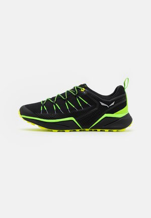 DROPLINE - Hiking shoes - fluo green/fluo yellow