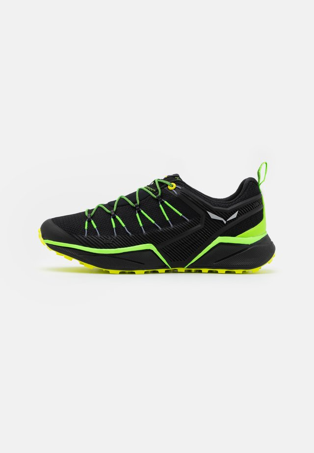 DROPLINE - Outdoorschoenen - fluo green/fluo yellow