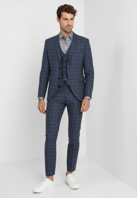 Selected Homme - SLHONE-MYLOAIR CHECK SUIT - Garnitur - dark blue - 1