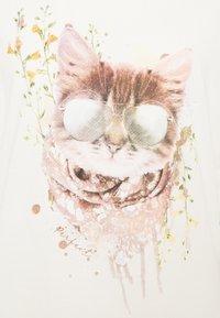 Cream - Triko spotiskem - eggnog cat - 5