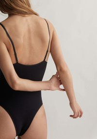 OYSHO - STRAPPY SEAMLESS - Body - black - 2