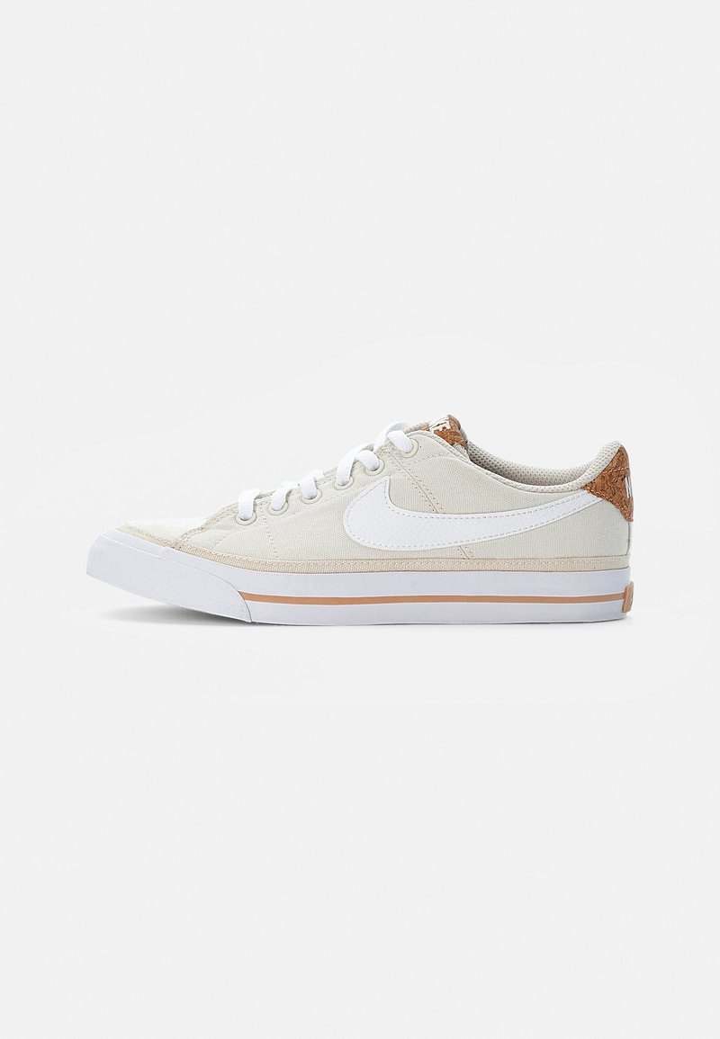 Nike Sportswear - NIKE COURT LEGACY - Trainers - pale ivory/white-multi-color-gum light brown