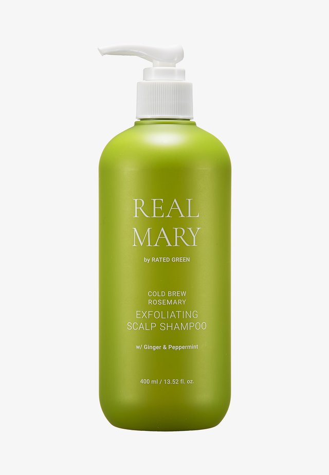 REAL MARY EXFOLIATING SCALP SHAMPOO - Schampo - -