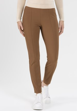 SCHMALE PULL-ON IN HIGHTEC - Trousers - braun