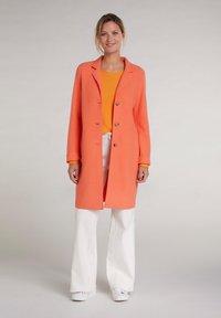 Oui - Classic coat - apricot - 1