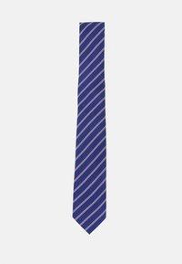 Pier One - Cravatta - dark blue/bordeaux/white - 0