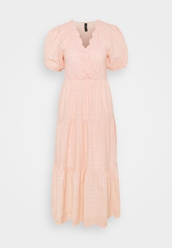 YASFIELLA LONG DRESS - Maxikjole - peach melba