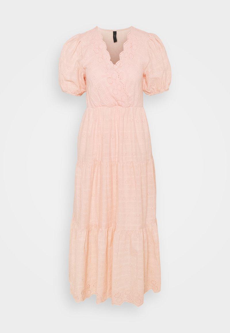 YAS - YASFIELLA LONG DRESS - Maxi dress - peach melba