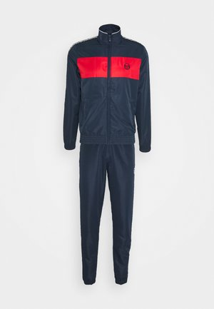BRETT TRACKSUIT - Survêtement - navy/red