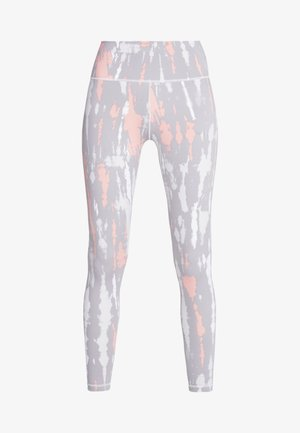 Tights - grey/glow pink