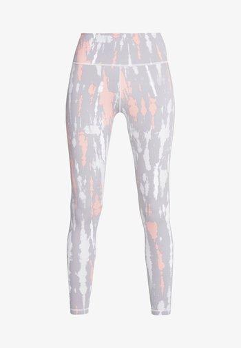 Leggings - grey/glow pink