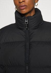 Marc O'Polo - PUFFER JACKET SHORT STAND UP COLLAR ZIPP - Down jacket - black - 6