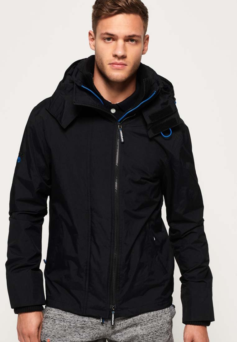 Men TECHNICAL POP MIT REISSVERSCHLUSS UND KAPUZE - Light jacket