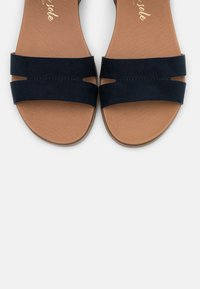 New Look Wide Fit - WIDE FIT GREAT - Sandales - navy - 5