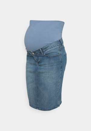SKIRT ERIE - Denim skirt - aged blue
