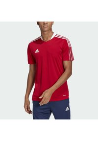adidas Performance - TIRO 21 - Triko s potiskem - team power red - 2