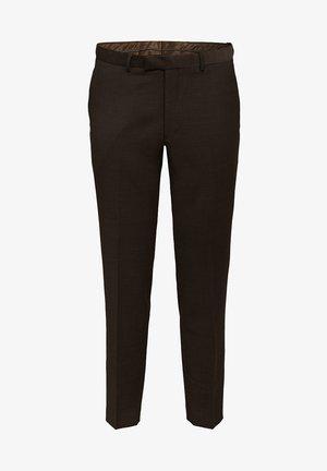 Suit trousers - dark brown
