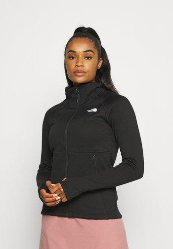 CANYONLANDS - Fleece jacket - black