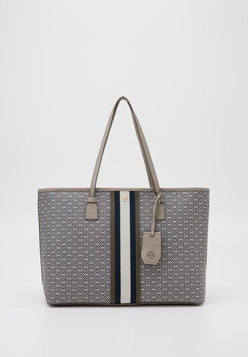 GEMINI LINK ZIP TOTE - Shopping bag - gray heron