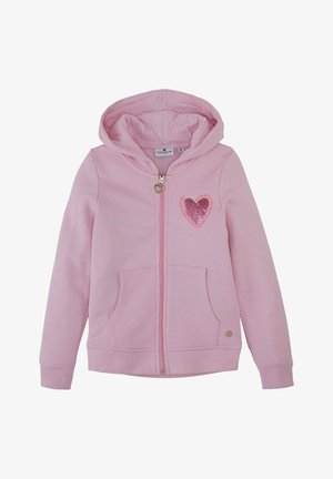 Zip-up hoodie - lilac sachet|rose