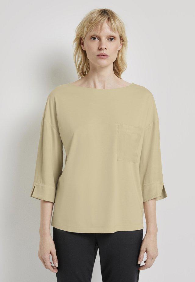 T-shirt à manches longues - light soft sand