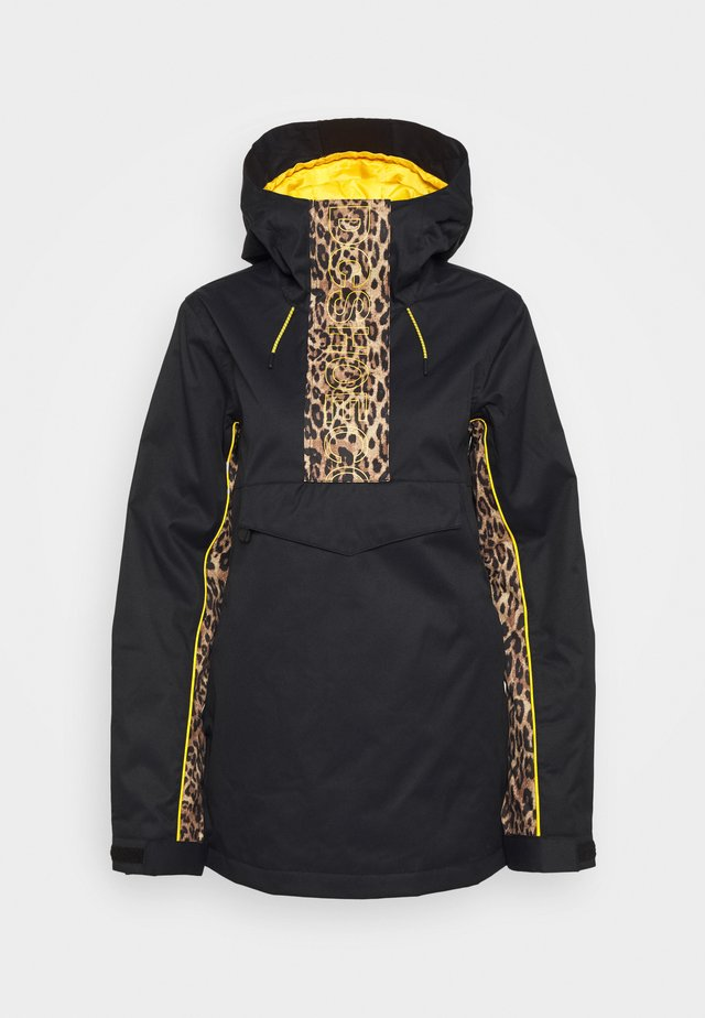ENVY ANORAK - Snowboard jacket - black