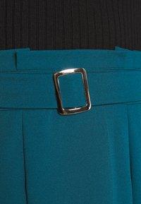 WAL G. - EMERSON MIDI SKIRT - A-line skirt - dark teal blue - 5