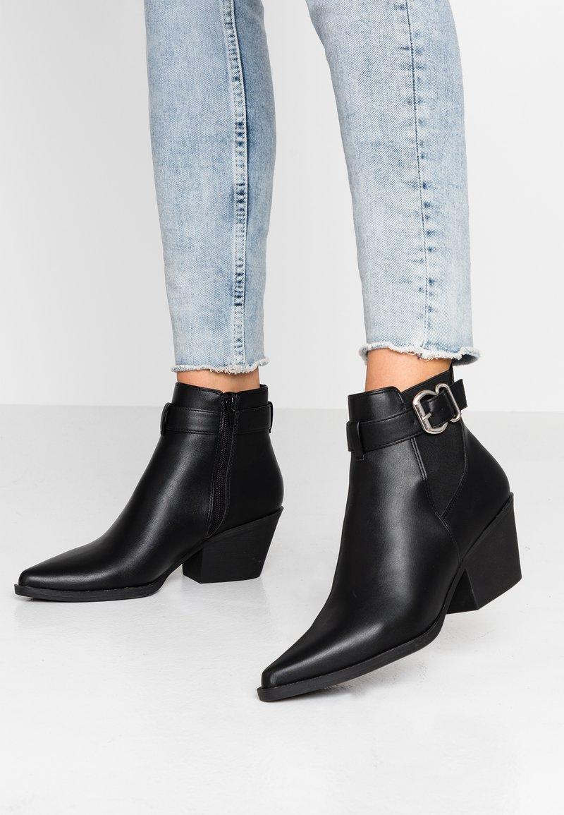 New Look - BRICK - Boots à talons - black