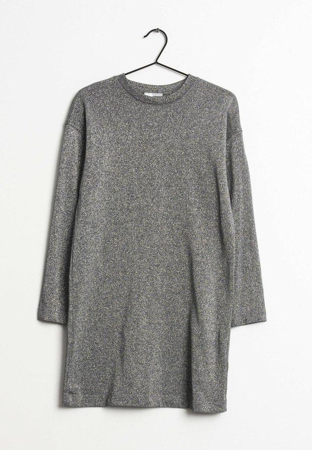 Gebreide jurk - silver