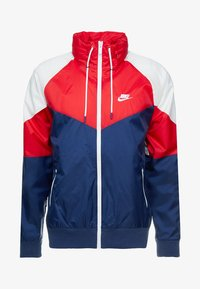 Nike Sportswear - Summer jacket - midnight navy/university red/summit white - 4