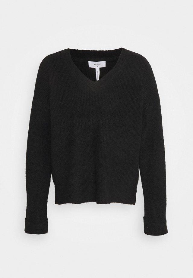 OBJMINDRA  - Sweter - black