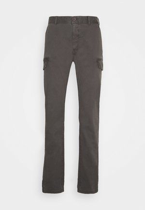 NEW CARGO - Cargo trousers - charcoal