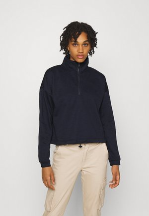 VMNATALIE HIGHNECK ZIP  - Sweatshirt - night sky