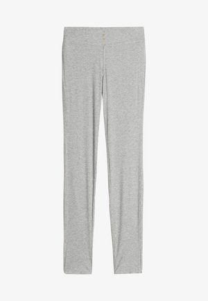 GERIPPTE LEGGINGS AUS MODALMIX - Leggings - Trousers - silver grey mel