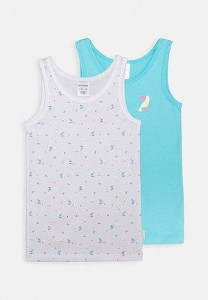 2 PACK - Undershirt - blue