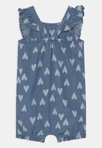 Carter's - CHAMBRAY HEART - Jumpsuit - blue - 1