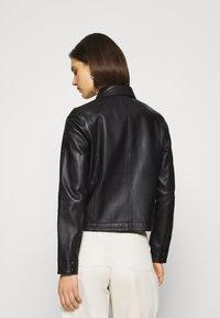 Oakwood - HARMONY - Leather jacket - black - 2